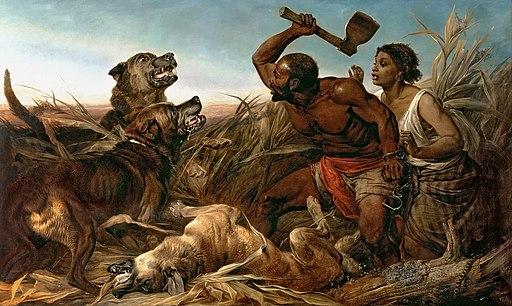 The Hunted Slaves by Richard Ansdell 1861