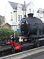 The Jacobite steam train at Fort William railway station 2018-08-25 by Marcok f02.jpg
