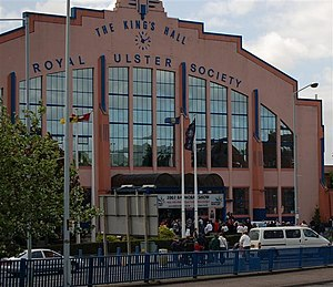 King's Hall, Belfast - The King's Hall during the Balmoral Show (2007)