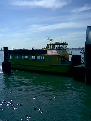 Liberty Water Taxi - Image: The Little Lady II at the World Financial Center Pier