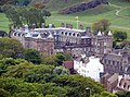 The Palace of Holyroodhouse seen from Calton Hill.JPG