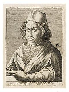 Andrea del Verrocchio 15th century Italian sculptor, goldsmith and painter