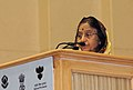 The President, Smt. Pratibha Devisingh Patil addressing at the 56th National Film Awards function, in New Delhi on March 19, 2010.jpg