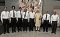 The Prime Minister, Shri Narendra Modi in a group photo with the Delhi Metro (DMRC) officials, at Faridabad on September 06, 2015.jpg