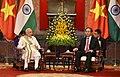 The Prime Minister, Shri Narendra Modi meeting the President of the Socialist Republic of Vietnam, Mr. Tran Dai Quang, in Hanoi, Vietnam on September 03, 2016 (1).jpg