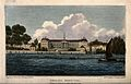 The Royal Hospital, Chelsea; viewed from the Surrey bank wit Wellcome V0012910.jpg