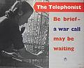 The Telephonist Art.IWMPST10014.jpg