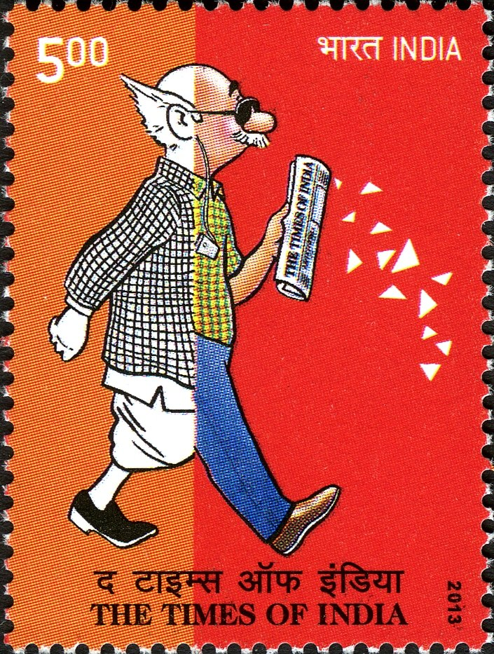 The Times of India 2013 stamp of India