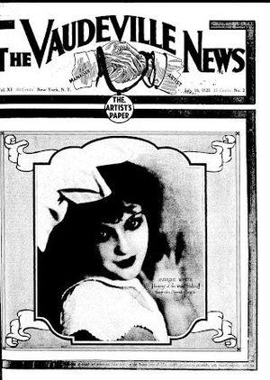 Vaudeville News - Image: The Vaudeville News
