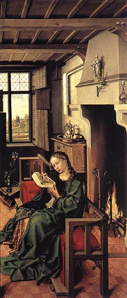 The Werl Altarpiece Saint Barbara.jpg