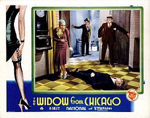 The Widow from Chicago - Theatrical poster