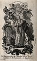The blessed Margaret of Citta di Castello. Etching by C. Kla Wellcome V0032587.jpg