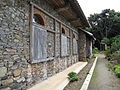 The outside wall of Ono church.JPG