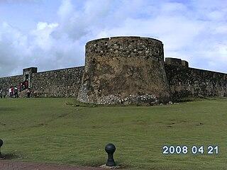 History museum in Puerto Plata, Dominican Republic
