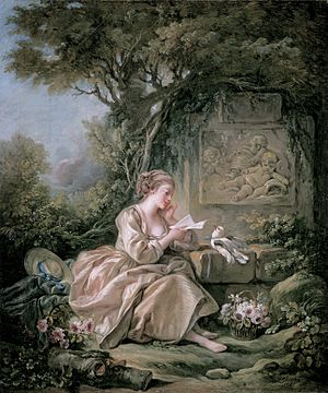 François Boucher - The Secret Message