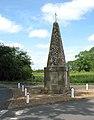 The war memorial at Langley - geograph.org.uk - 1337224.jpg