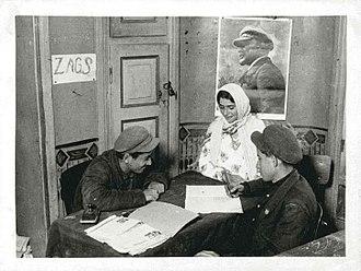 History of the Jews in the Soviet Union - Mountain Jews in Quba rayon, Azerbaijan, 1932