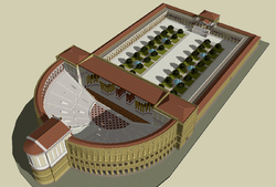 Theatre of Pompey Sketch up model.png