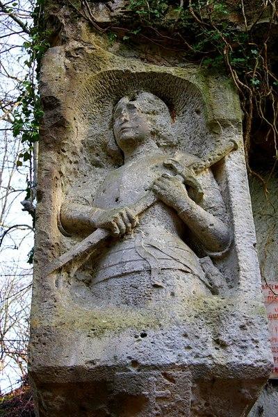 Fichier:Thiescourt Carriere Chauffour Jeanne d'Arc.jpg