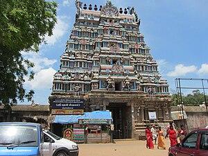 Swetharanyeswarar Temple - Image: Thiruvengadu temple