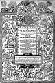 Thomas Morley's Plaine and Easie Introduction to Practicall Musicke 1597.jpg