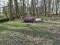 Three Toadstools, Two Barrels - geograph.org.uk - 1759477.jpg