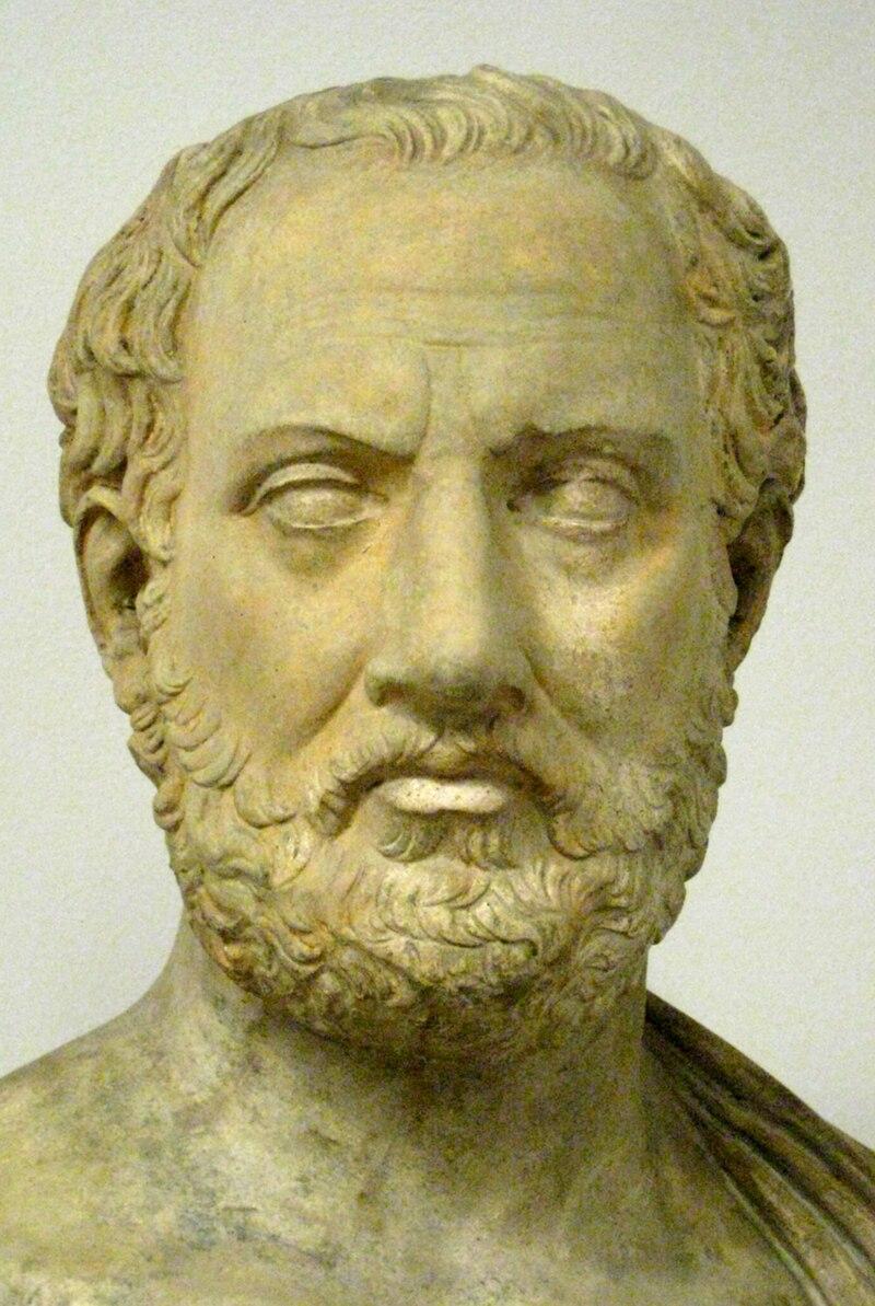 Tucídides, autor de la Historia de la guerra del Peloponeso
