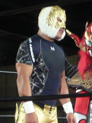 CMLL International Gran Prix - Tiger Mask IV, travelled to Mexico for the tournament