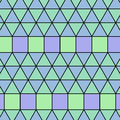Tiling Demiregular triple triangle Elongated Triangular.png