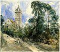Tillington Church by John Constable 1834.jpg