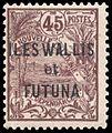 Timbre Wallis et Futuna 1920 - 45 centimes.jpg