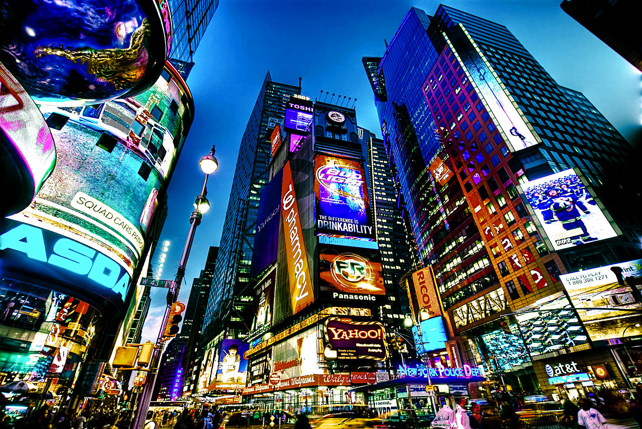 file times square new york city hdr jpg wikimedia commons