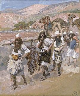 The Twelve Spies Biblical figures