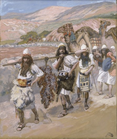 Tissot The Grapes of Canaan