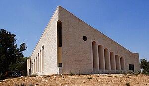 Tkuma, Israel - Village synagogue