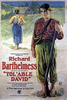 <i>Tolable David</i> 1921 film