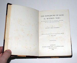 The Kingdom of God Is Within You - The 1st English edition of The Kingdom of God Is Within You.