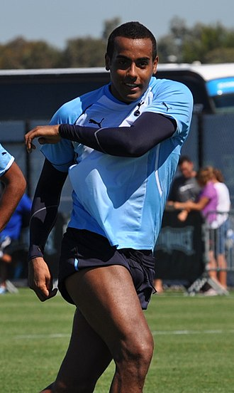 Tom Huddlestone - Huddlestone training with Tottenham Hotspur in 2010