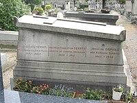 Tombe Pierre-Gilles de Gennes, Cimetière de Montrouge.jpg