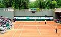 Tommy Robredo v Kenny De Schepper. Court 2, Roland Garros 2014-15159116408.jpg