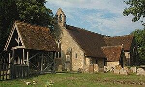 Toot Baldon - Image: Toot Baldon St Lawrence Parish Church