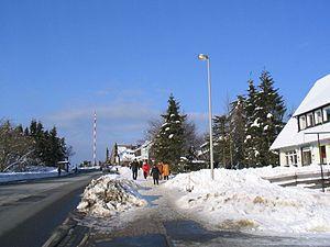 Torfhaus - Blick nach Norden im Winter