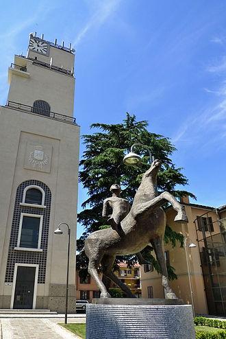Carate Brianza - Image: Torre civica carate brianza