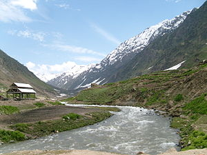 Kunhar River - Image: Towards to Saif ul Malook