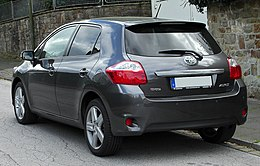Toyota Auris Facelift rear 20100926.jpg