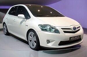 Toyota Auris/Auris Hybrid : Autosalon Paris 2012