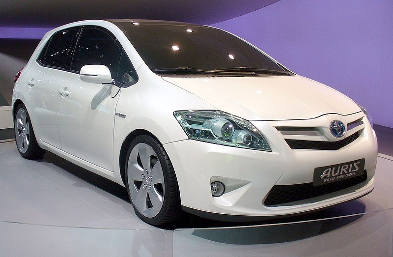 toyota auris manual. Black Bedroom Furniture Sets. Home Design Ideas