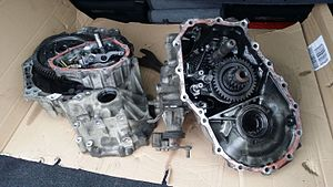 Toyota C transmission - Toyota manual 5 speed transmission 30300-13070 from the C50 gearbox family.