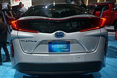 Rear Badging Of The U S Prius Prime