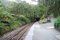 Train approaching, Dolgoch - geograph.org.uk - 1517151.jpg